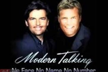 نت و تبلچر NO face No name No number از گروه modern talking