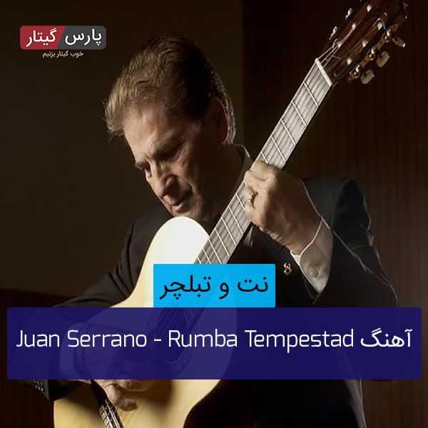 نت Rumba Tempestad از Juan Serrano